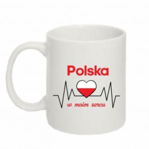 Kubek 330ml Polska w moim sercu