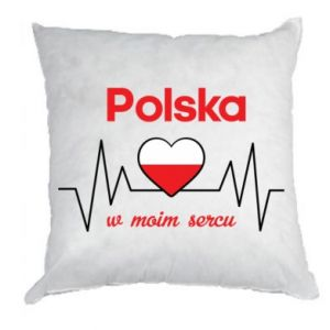 Pillow Poland in my heart