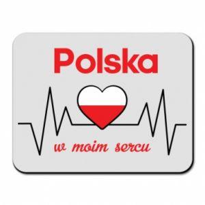 Podkładka pod mysz Polska w moim sercu