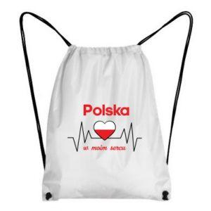 Plecak-worek Polska w moim sercu