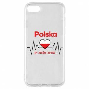 Etui na iPhone 8 Polska w moim sercu