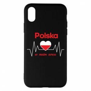 Etui na iPhone X/Xs Polska w moim sercu