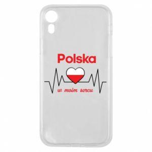 Etui na iPhone XR Polska w moim sercu