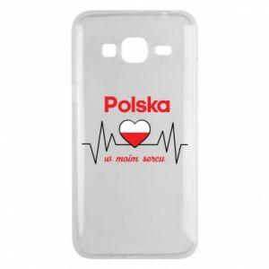 Etui na Samsung J3 2016 Polska w moim sercu