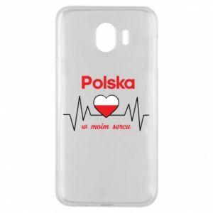 Etui na Samsung J4 Polska w moim sercu