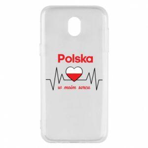 Etui na Samsung J5 2017 Polska w moim sercu