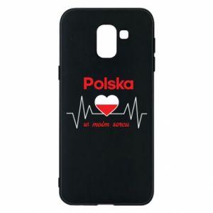 Etui na Samsung J6 Polska w moim sercu