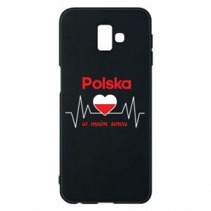 Etui na Samsung J6 Plus 2018 Polska w moim sercu
