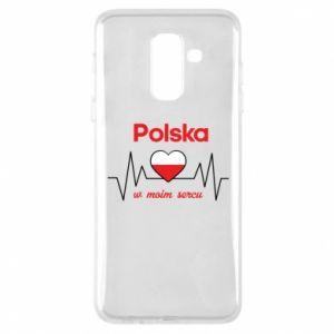 Etui na Samsung A6+ 2018 Polska w moim sercu