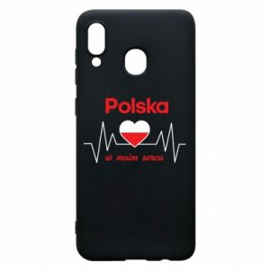 Etui na Samsung A20 Polska w moim sercu