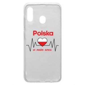 Etui na Samsung A30 Polska w moim sercu
