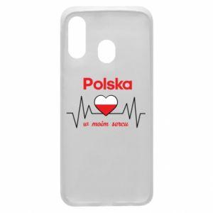 Etui na Samsung A40 Polska w moim sercu