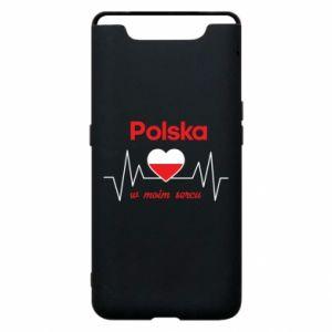 Etui na Samsung A80 Polska w moim sercu