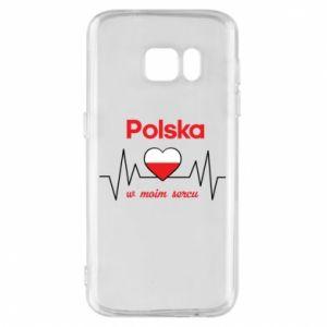 Etui na Samsung S7 Polska w moim sercu