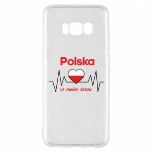 Etui na Samsung S8 Polska w moim sercu