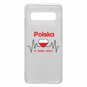 Etui na Samsung S10 Polska w moim sercu