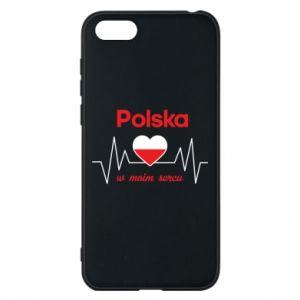 Etui na Huawei Y5 2018 Polska w moim sercu