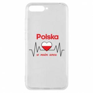 Etui na Huawei Y6 2018 Polska w moim sercu