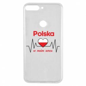 Etui na Huawei Y7 Prime 2018 Polska w moim sercu
