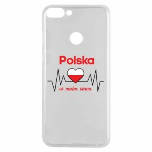 Phone case for Huawei P Smart Poland in my heart - PrintSalon