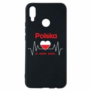 Etui na Huawei P Smart Plus Polska w moim sercu