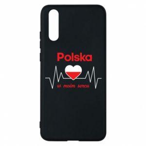 Etui na Huawei P20 Polska w moim sercu