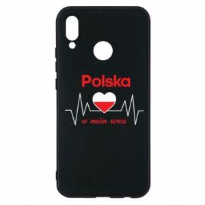Etui na Huawei P20 Lite Polska w moim sercu