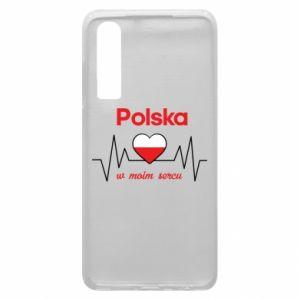 Etui na Huawei P30 Polska w moim sercu