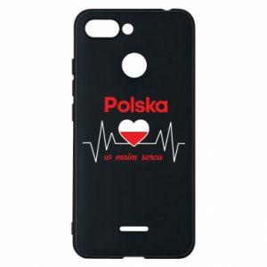 Etui na Xiaomi Redmi 6 Polska w moim sercu