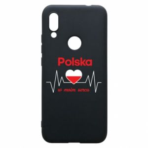 Etui na Xiaomi Redmi 7 Polska w moim sercu