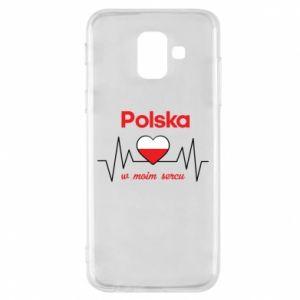 Etui na Samsung A6 2018 Polska w moim sercu