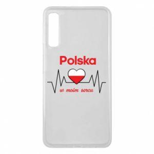 Etui na Samsung A7 2018 Polska w moim sercu