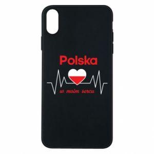 Etui na iPhone Xs Max Polska w moim sercu