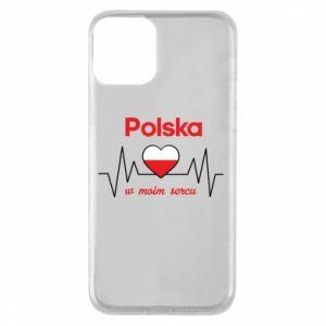 Etui na iPhone 11 Polska w moim sercu