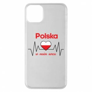 Etui na iPhone 11 Pro Max Polska w moim sercu