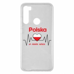 Etui na Xiaomi Redmi Note 8 Polska w moim sercu