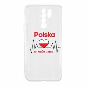 Etui na Xiaomi Redmi 9 Polska w moim sercu