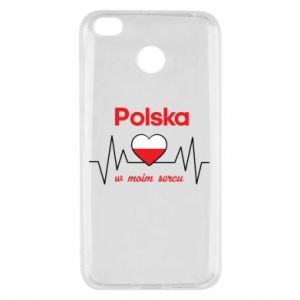 Etui na Xiaomi Redmi 4X Polska w moim sercu