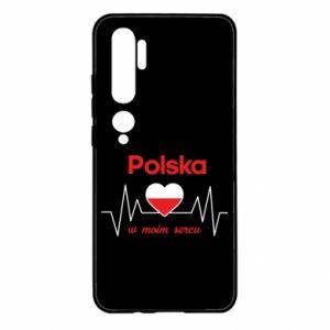 Etui na Xiaomi Mi Note 10 Polska w moim sercu