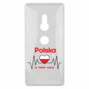 Etui na Sony Xperia XZ2 Polska w moim sercu