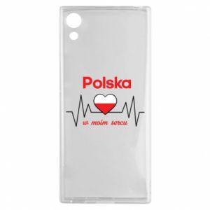 Etui na Sony Xperia XA1 Polska w moim sercu