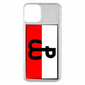 Etui na iPhone 11 Polska Walcząca i flaga Polski