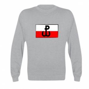Bluza dziecięca Polska Walcząca i flaga Polski