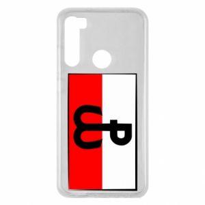 Etui na Xiaomi Redmi Note 8 Polska Walcząca i flaga Polski