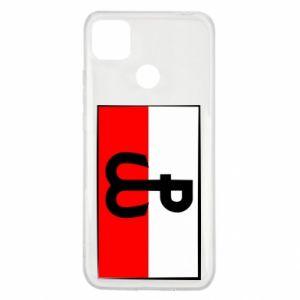 Etui na Xiaomi Redmi 9c Polska Walcząca i flaga Polski