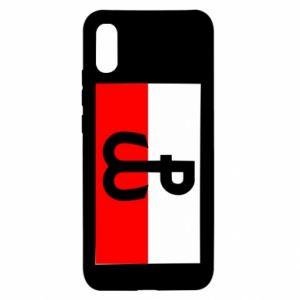 Etui na Xiaomi Redmi 9a Polska Walcząca i flaga Polski