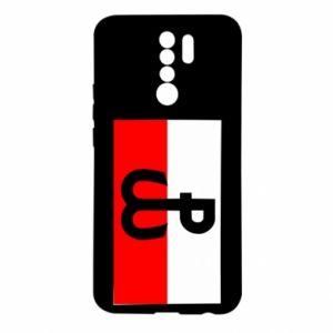 Etui na Xiaomi Redmi 9 Polska Walcząca i flaga Polski