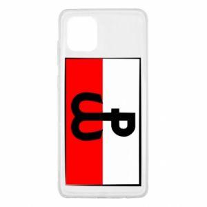 Etui na Samsung Note 10 Lite Polska Walcząca i flaga Polski