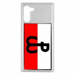 Etui na Samsung Note 10 Polska Walcząca i flaga Polski