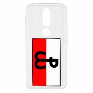 Etui na Nokia 4.2 Polska Walcząca i flaga Polski